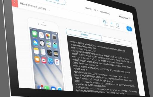 Corellium virtualisatie van iOS