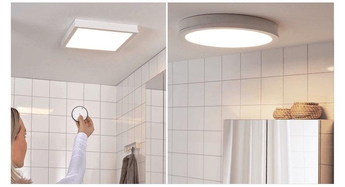 IKEA Gunnarp badkamerlampen