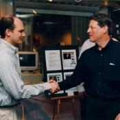 Bill Stasior met Al Gore