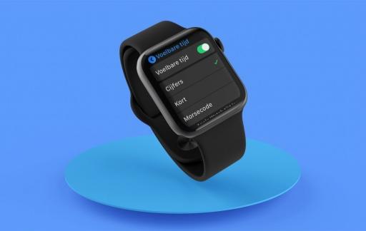 Apple Watch voelbare tijd