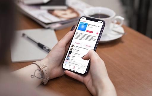 Shazam Apple Music afspeellijst.