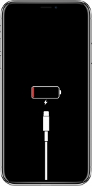 iPhone X low battery