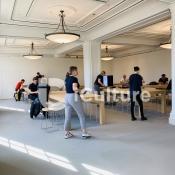 Verbouwing Apple Amsterdam: de bovenverdieping is weer open
