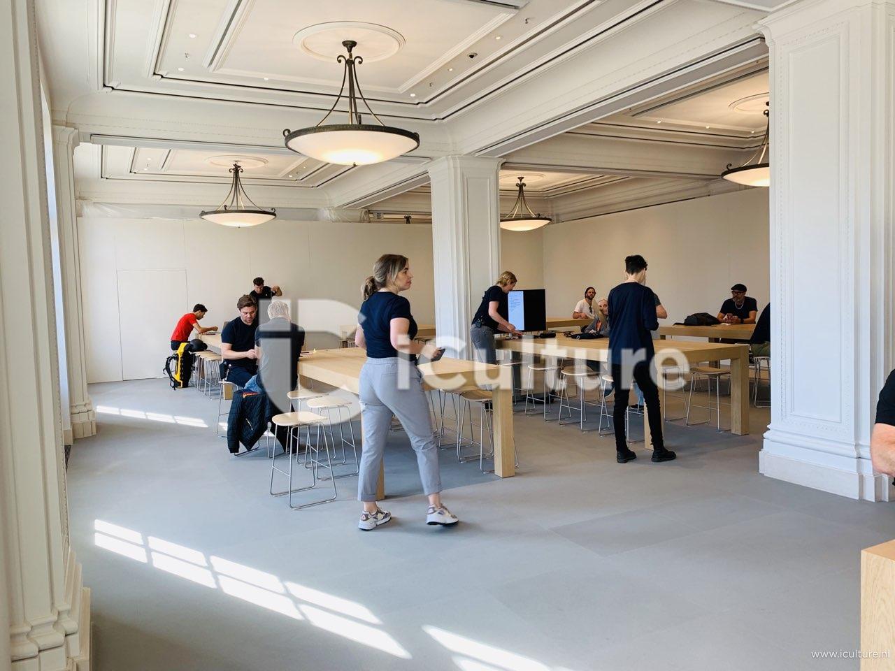 Apple Amsterdam verbouwing: voormalige Genius Bar