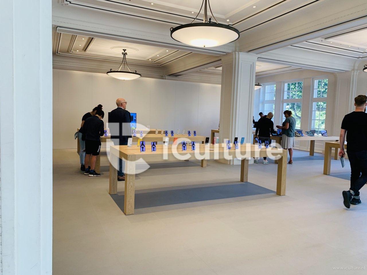 Apple Amsterdam verbouwing bovenverdieping