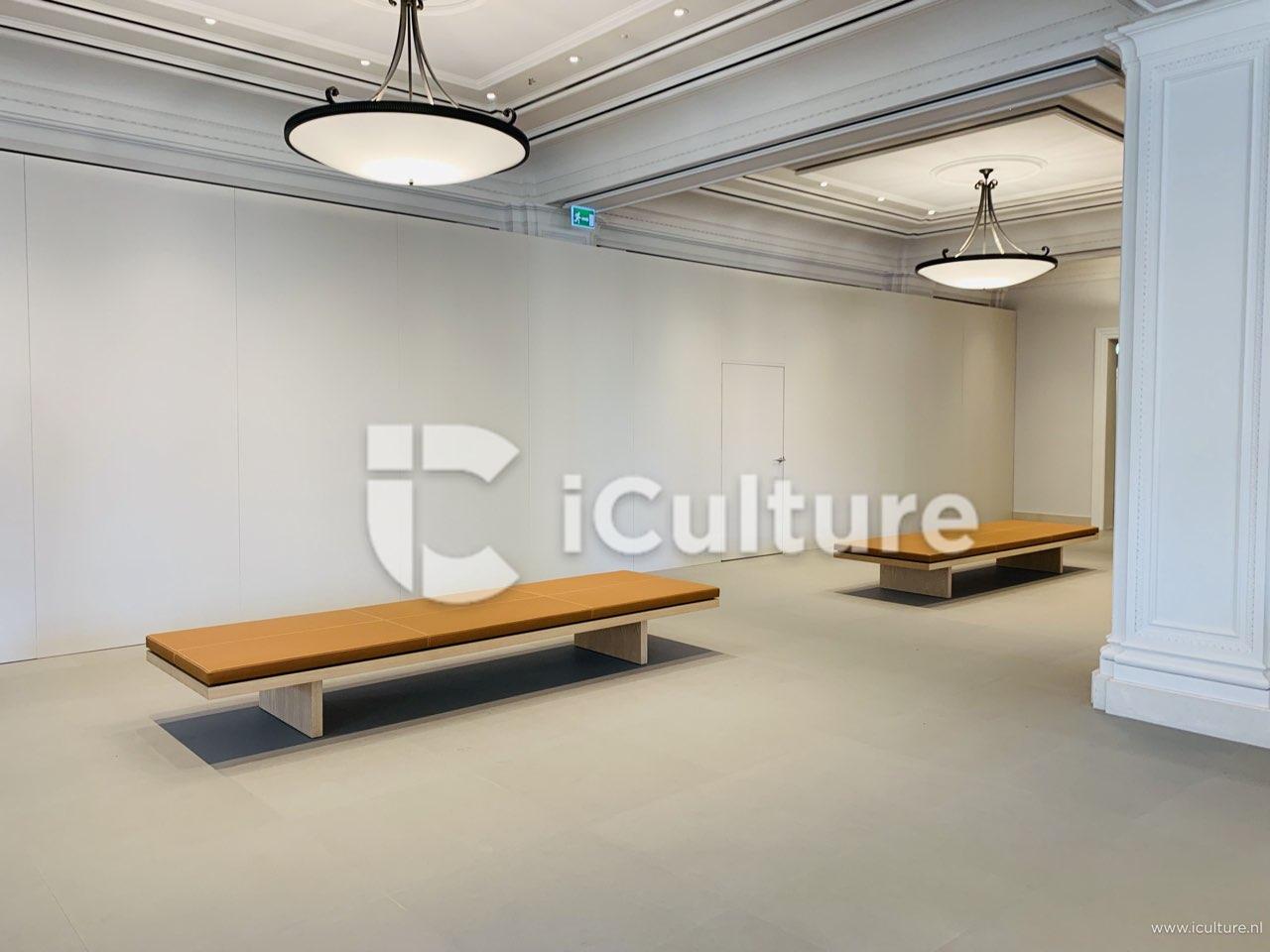 Apple Amsterdam verbouwing: atrium afgeschermd, lederen bankjes
