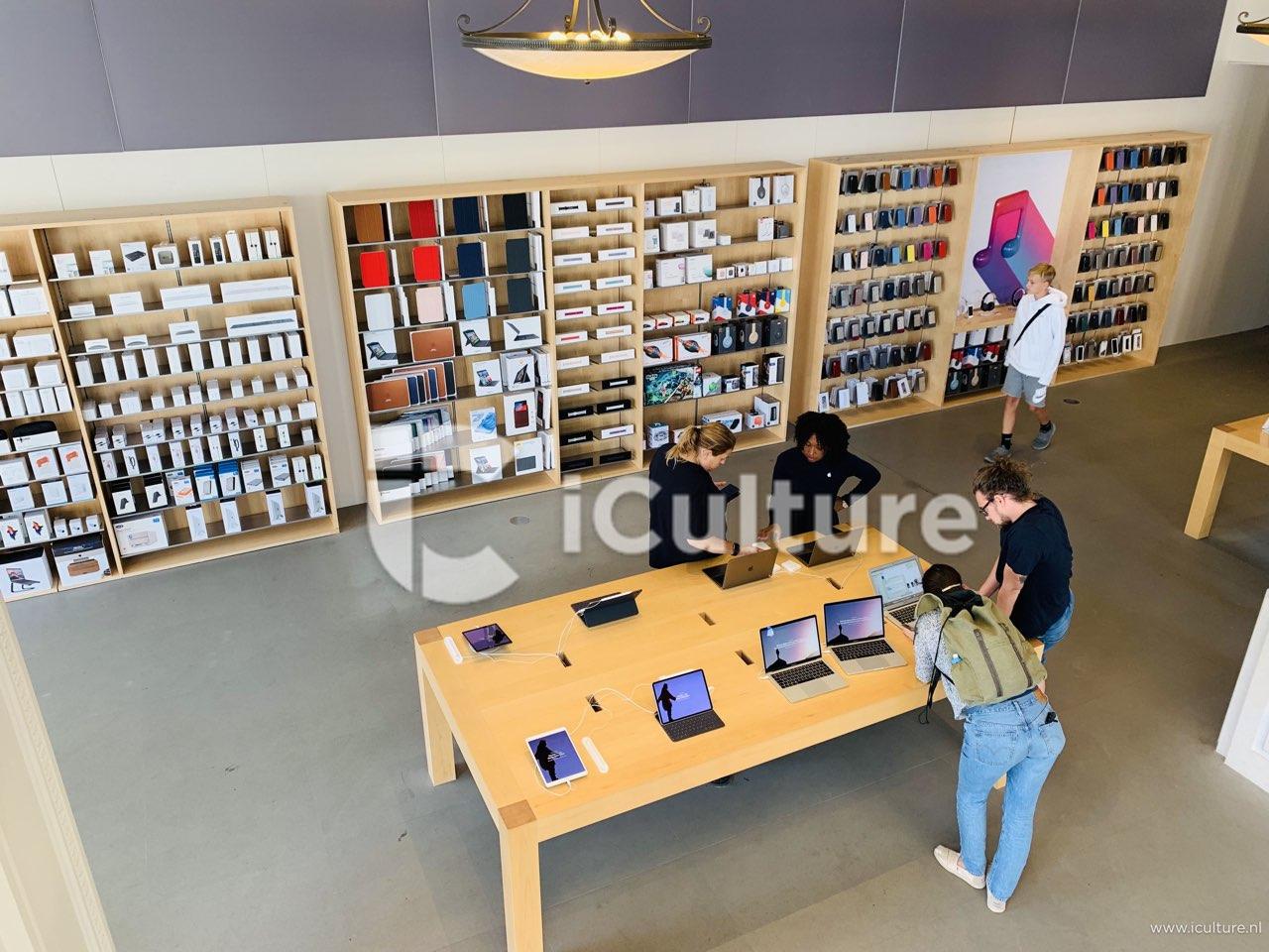 Apple Amsterdam benedenverdieping