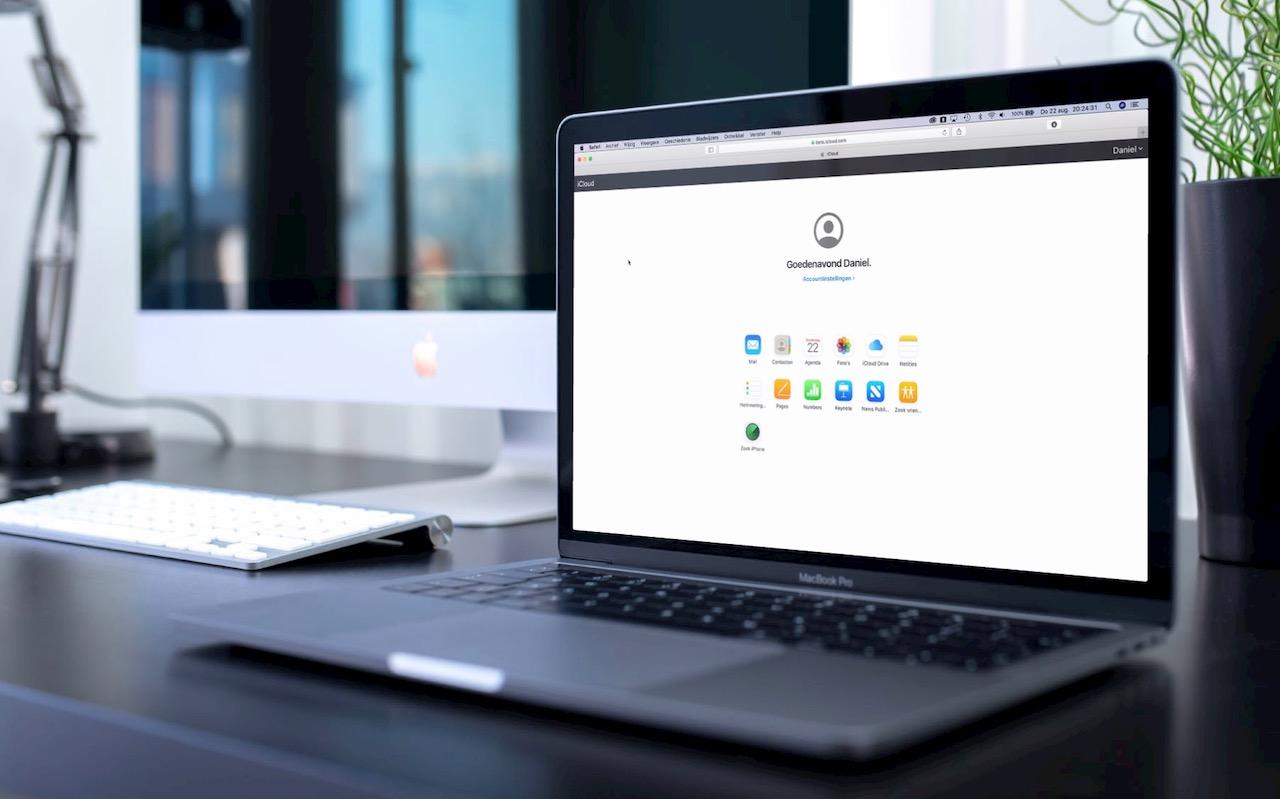 iCloud beta op MacBook Pro