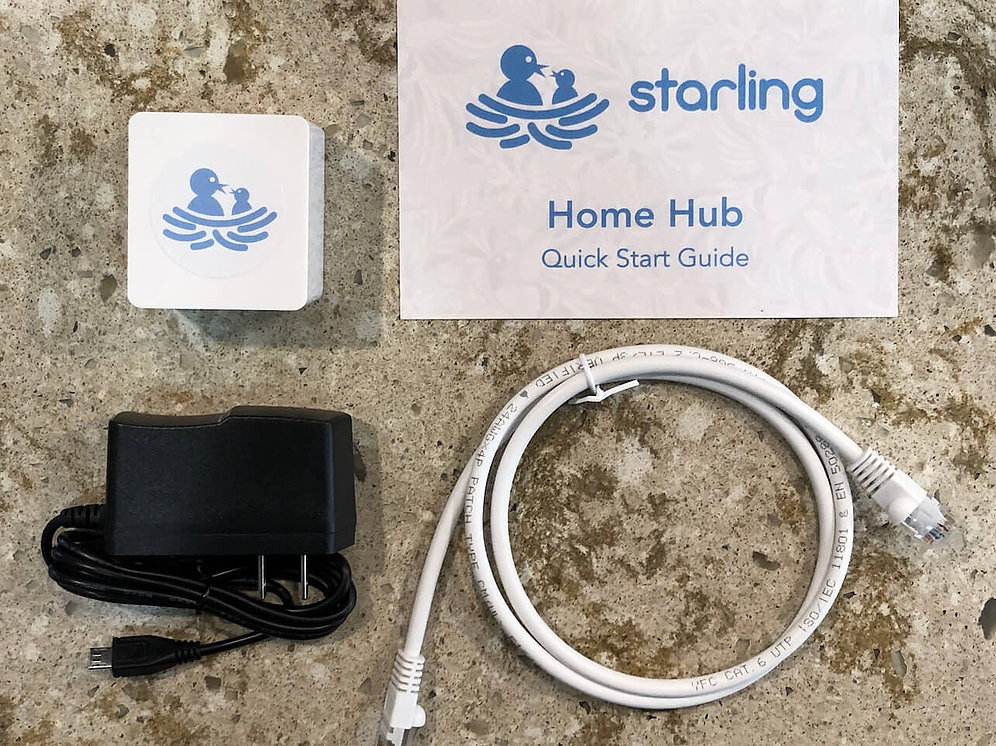 Starling Home Hub set.