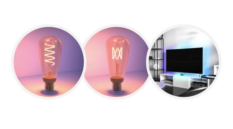 LiFX Spiral filament lampen.