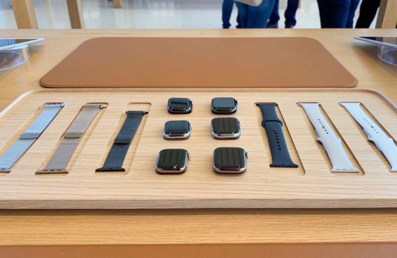 Apple Watch tafels nieuw