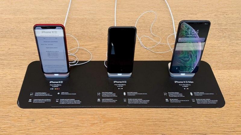iPhone-informatiebordjes