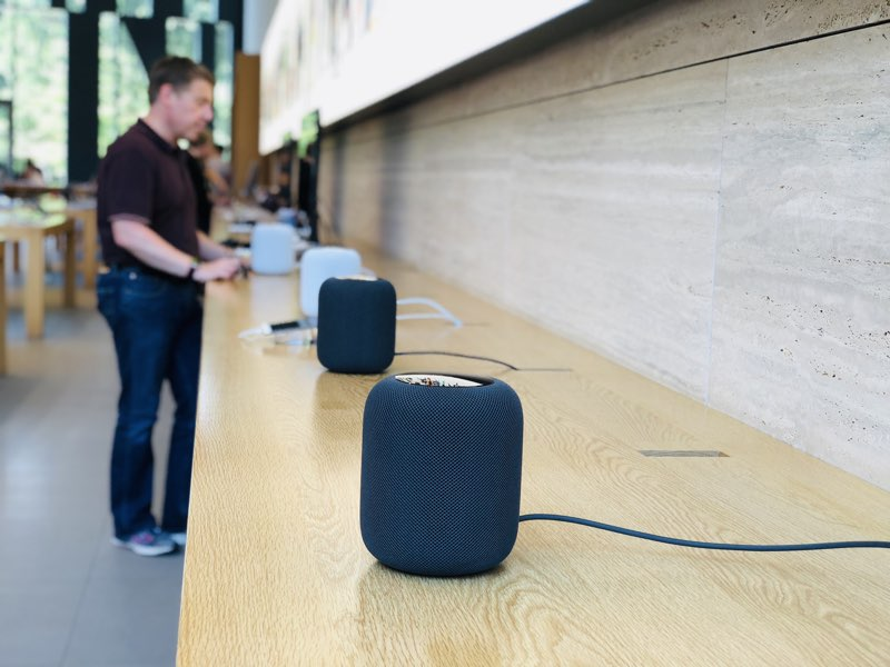 Apple Store Dusseldorf HomePod
