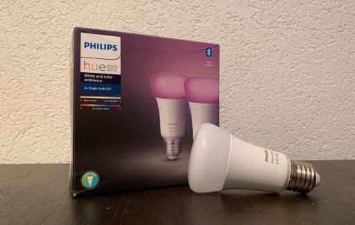 Philips Hue Bluetooth verpakking.
