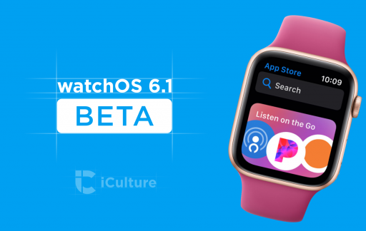 watchOS 6.1 beta.