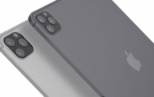 iPad Pro 2020 concept met camera.