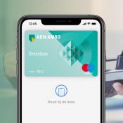 ABN AMRO kaart voor Apple Pay.
