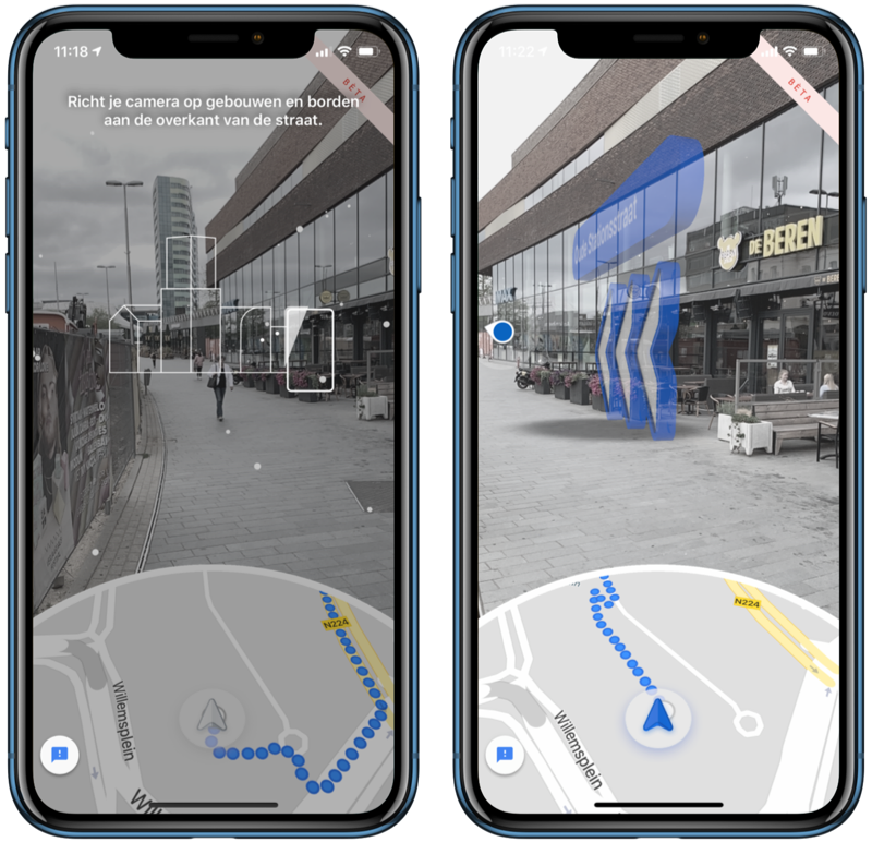 Google Maps Live View ARKit.