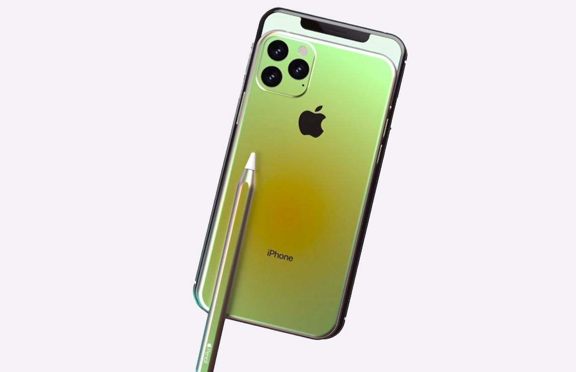 iPhone 11 Pro Max met Pencil