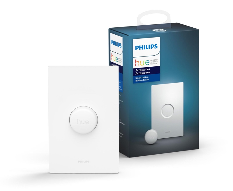 Philips Hue Smart Button.
