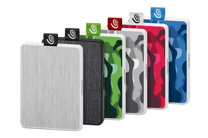 Seagate  One Touch SSD textiel en camo