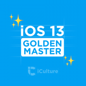 iOS 13 Golden Master.
