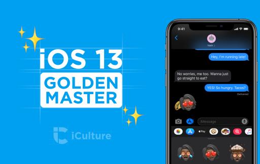 iOS 13 Golden Master.