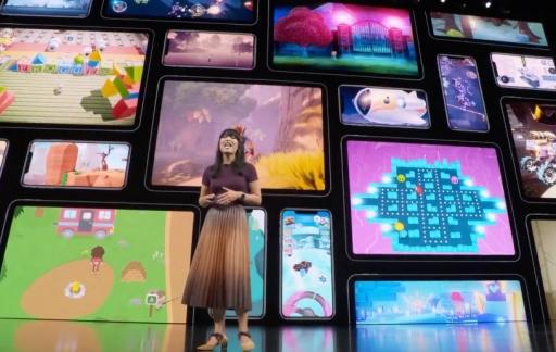 Apple Arcade op het Apple Event