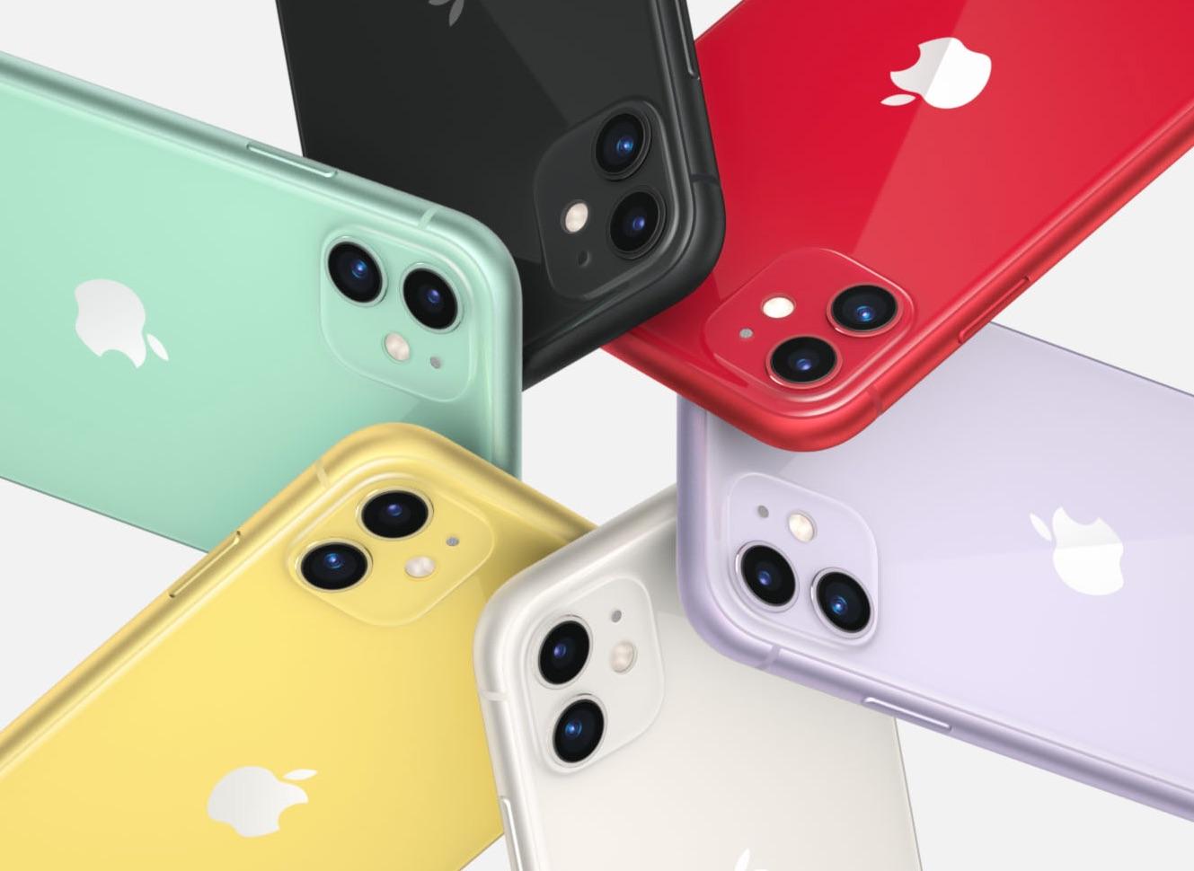 iPhone 11 kleuren galerij.