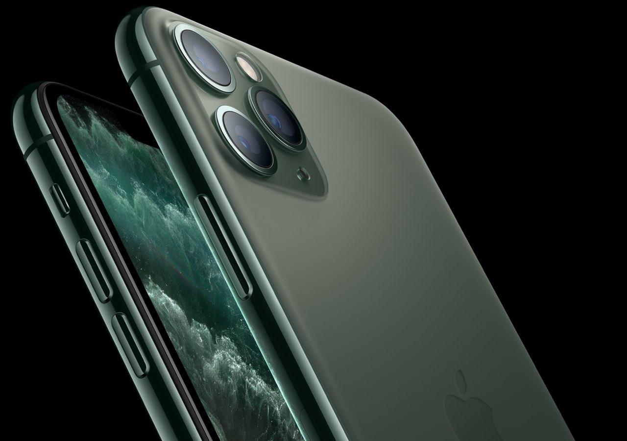 iPhone 11 Pro groen