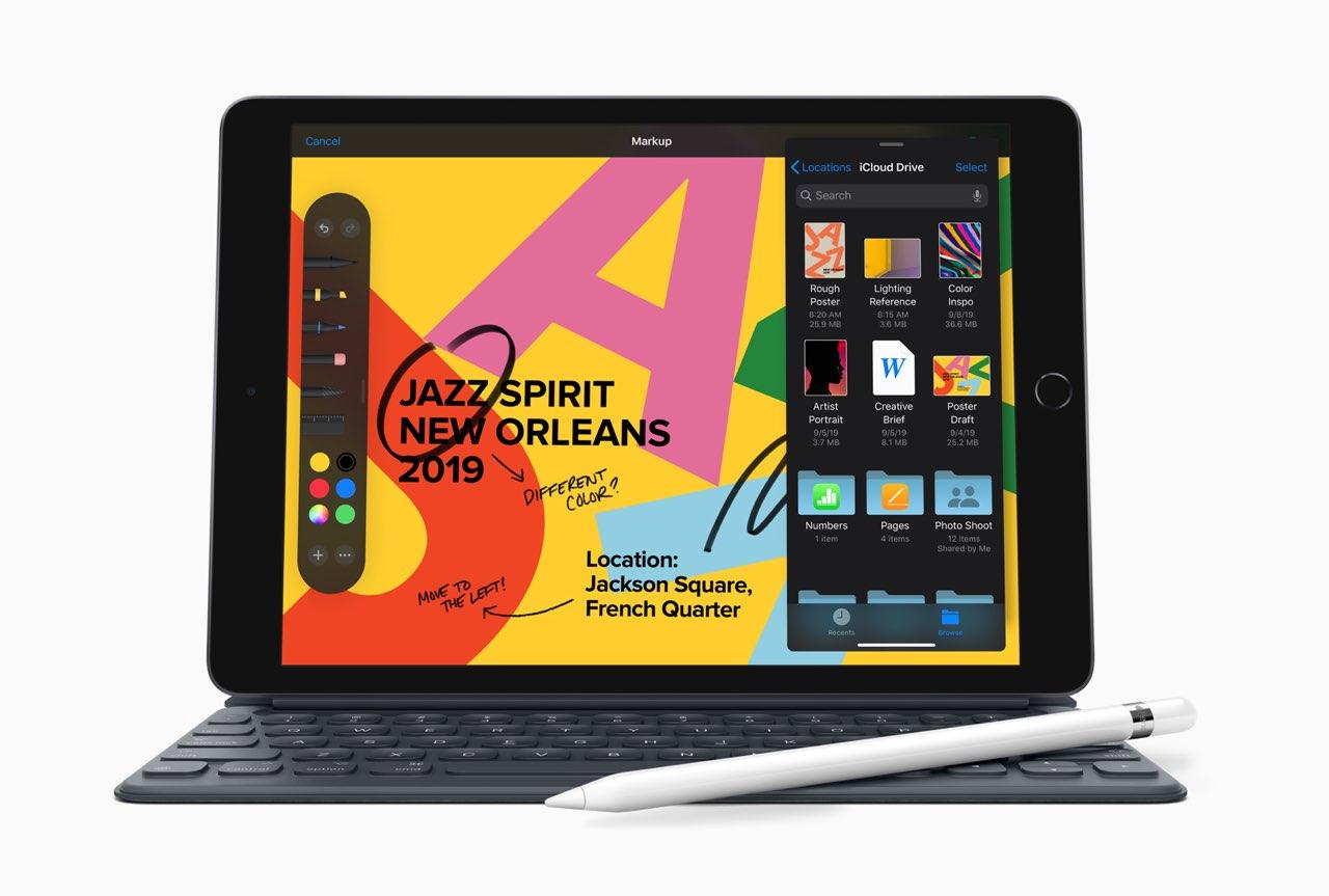 iPad 2019 toetsenbord