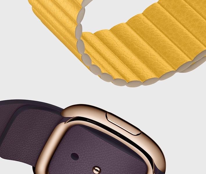 Apple Watch bandjes najaar 2019: leer.