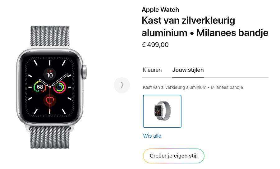 Apple Watch Studio kopen