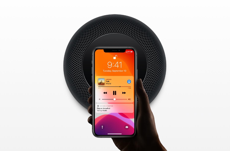 HomePod handoff voor muziek.