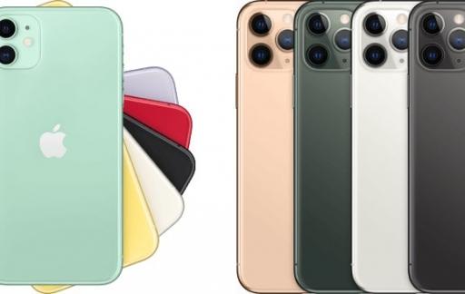 iPhone 11 Pro (Max) modellen