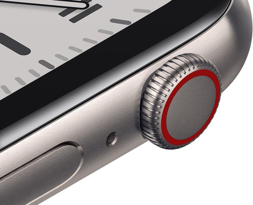 Apple Watch 4G in titanium