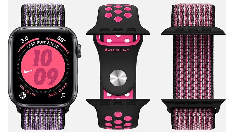 Nike+ Apple Watch combinaties