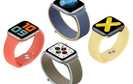 Apple Watch Series 5 modellen.