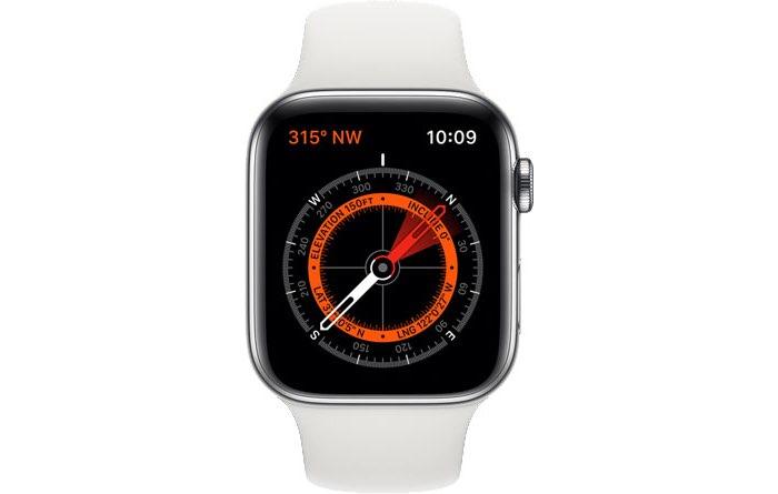 Apple Watch kompas Series 5