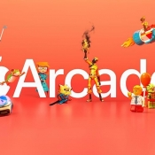 Apple Arcade logo oranje.