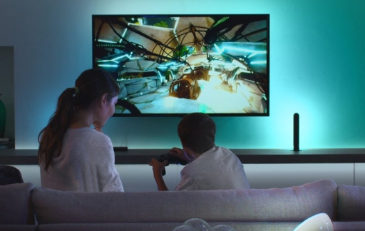 Philips Hue Play HDMI Sync Box gaming