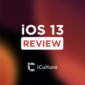 iOS 13 review.