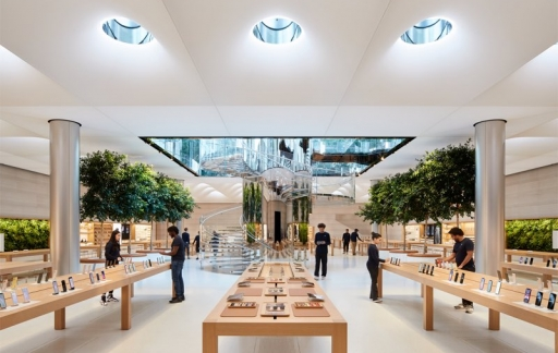 Apple Store Fifth Avenue interieur