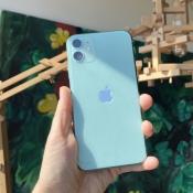 iPhone 11 groen achterkant.