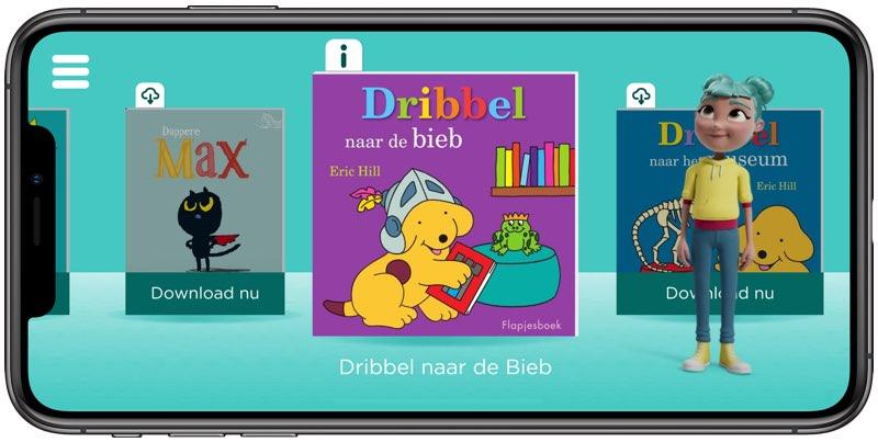 StorySign-app Dribbel
