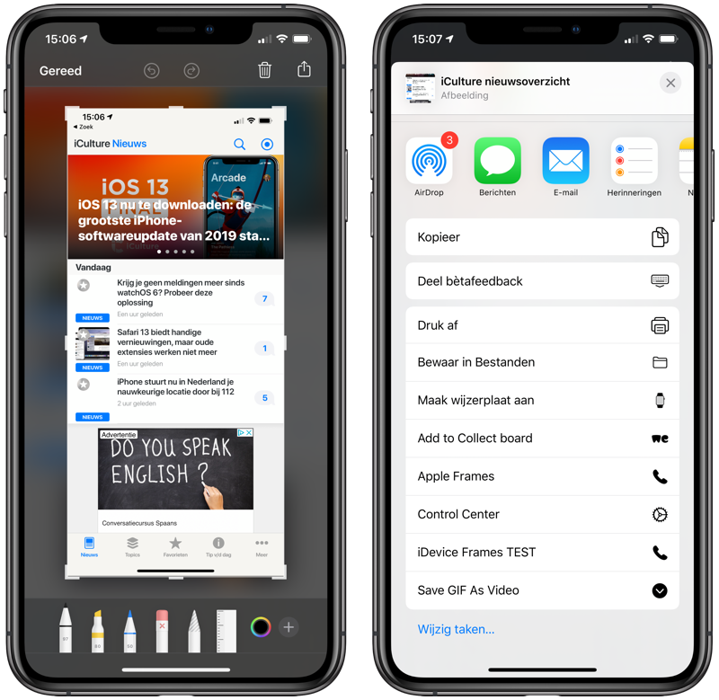 Feedback iOS-app