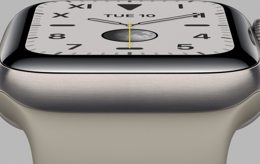 Apple Watch Edition titanium