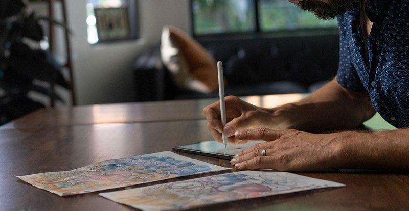 Adobe Fresco: tekenen