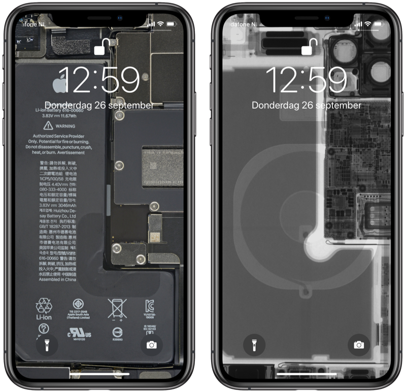 iFixit-wallpapers iPhone 11 Pro.