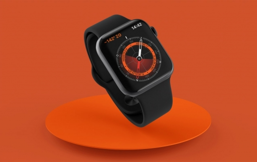 Apple Watch kompas